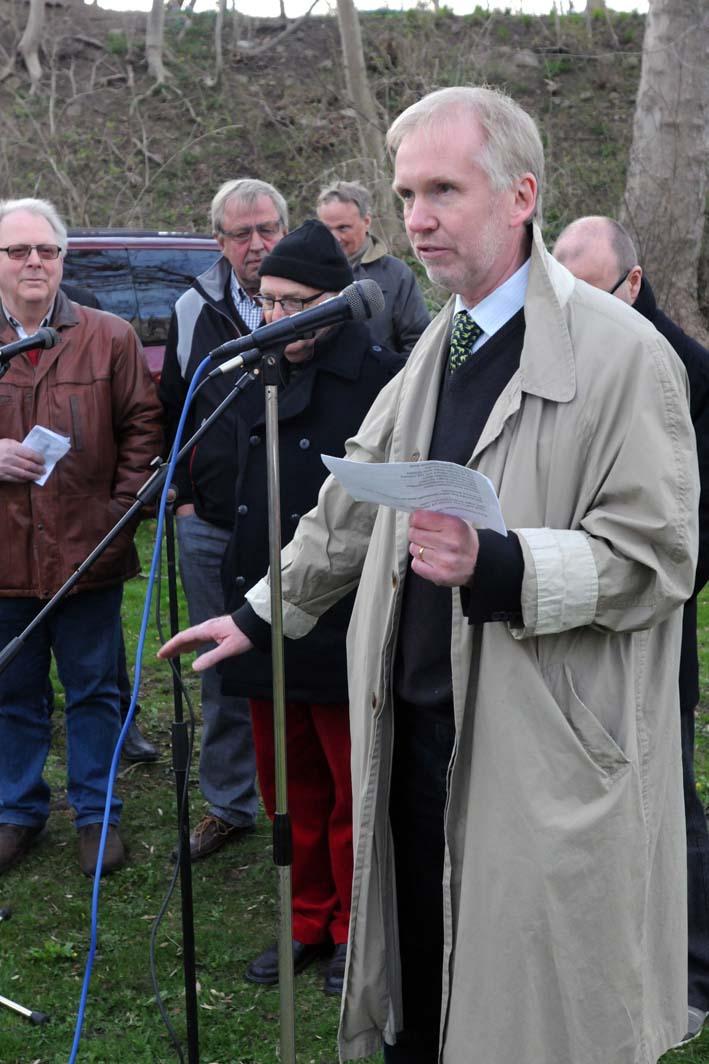 Årets vårtalare Hans Norén.